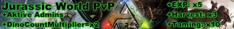 Jurassic World PvP x4EXP x3Harvest x12Tame!!